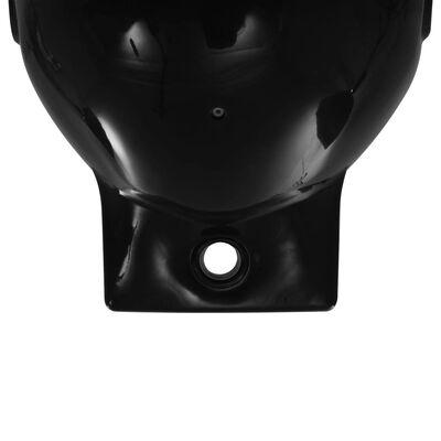 vidaXL Veneen lepuuttaja 2 kpl musta 69x21,5 cm PVC