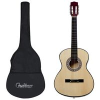 """vidaXL Klassinen kitara aloittelijan sarja laukulla 4/4 39"""""""