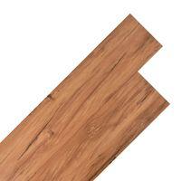 vidaXL PVC-lattialankut 5,26 m² 2 mm Luonnollinen jalava