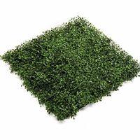 Emerald Keinotekoinen puksipuu ruohomatto 4 kpl vihreä 50x50 cm 417980