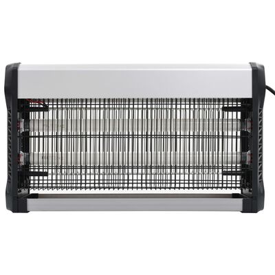 vidaXL Hyönteistentappaja alumiini ABS 30 W musta