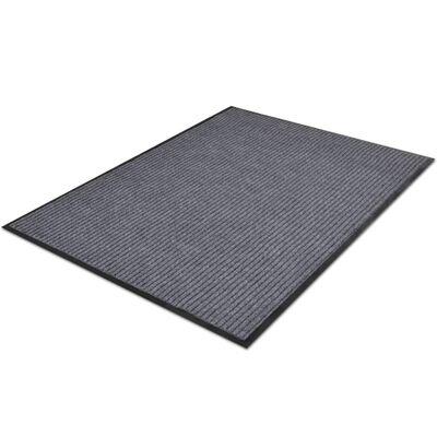 Harmaa PVC Ovimatto 90 x 60 cm