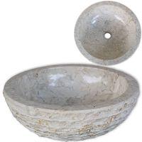 vidaXL Pesuallas marmori 40 cm kerma