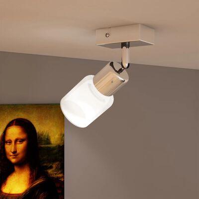 Kattovalaisin yhdellä lasivarjostimella LED integroitu,