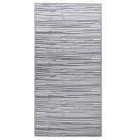 vidaXL Ulkomatto harmaa 120x180 cm PP