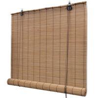 Ruskea Bambu Rullakaihdin 120 x 160 cm