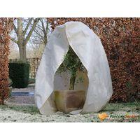 Nature Fleece talvipeite vetoketjulla 70 g/m² beige 2x2,5 m