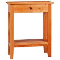 vidaXL Konsolipöytä 60x30x75 cm täysi mahonki