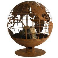 Esschert Design Maapallon muotoinen tuliastia