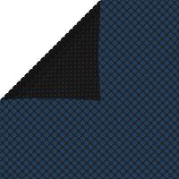 vidaXL Kelluva uima-altaan PE aurinkoenergiakalvo 975x488 cm sinimusta