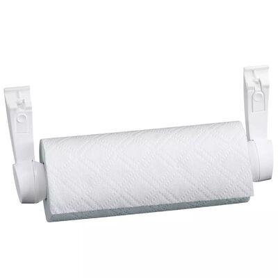 Leifheit Seinäkiinnitteinen rullanpidike Parat F2 valkoinen 25771, White