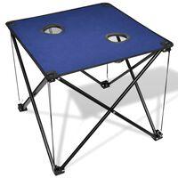 Kokoontaitettava Leiripöytä Sininen