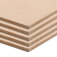 vidaXL MDF levyt 10 kpl suorakaide 120x60 cm 2,5 mm