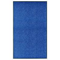 vidaXL Ovimatto pestävä sininen 90x150 cm