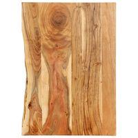 vidaXL Kylpyhuoneen peilipöydän levy täysi akaasiapuu 80x55x2,5 cm