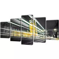 Taulusarja Lontoo Big Ben 200 x 100 cm