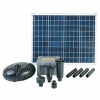 Ubbink SolarMax 2500 -setti aurinkopaneelilla, pumpulla ja akulla