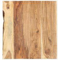 vidaXL Kylpyhuoneen peilipöydän levy täysi akaasiapuu 60x55x2,5 cm