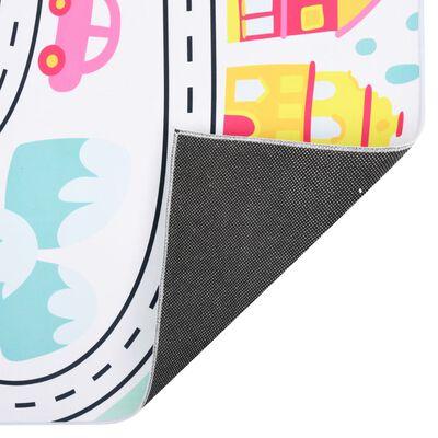 vidaXL Painatettu matto monivärinen 160x230 cm kangas