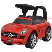 Mercedes Benz Punainen Lasten Jalkakäyttöinen Auto