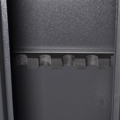 vidaXL Asekaappi ammuslaatikolla 5 aseelle