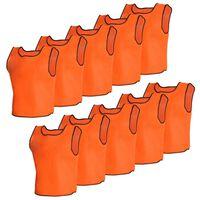 10 kpl Oranssit Seniori Urheiluliivit