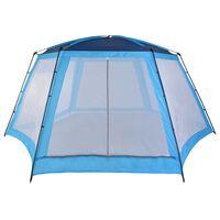 vidaXL Uima-altaan teltta 660x580x250 cm sininen
