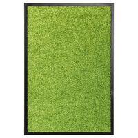 vidaXL Ovimatto pestävä vihreä 40x60 cm