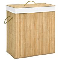 vidaXL Bambu pyykkikori 100 l