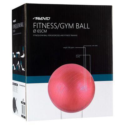 Avento Fitness/jumppapallo halkaisija 65 cm pinkki