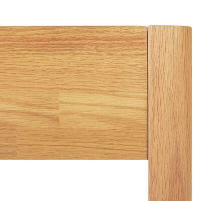 vidaXL Sängynrunko täystammi 180x200 cm