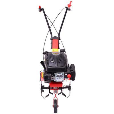 vidaXL Bensiini Kultivaattori 5 HV 2,8 kW Punainen