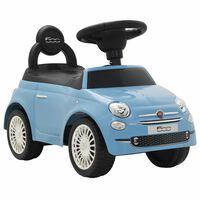 vidaXL Potkuauto Fiat 500 sininen