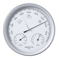 Nature 3-in-1 ilmanpainemittari lämpö- ja kosteusmittarilla 20 cm