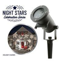 "Night Stars LED-valo ""Holiday Charms"" 6 kuviota 12 W NIS004"