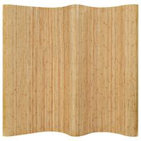 vidaXL Tilanjakaja bambu 250x165 cm luonnollinen