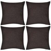 Ruskea Tyynynpäällinen Puuvilla 4kpl 40 x 40 cm