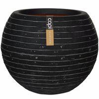 Capi Vaasi kukkalaatikko Nature Row pallo 40x32 cm antrasiitti KRWZ270