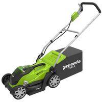 Greenworks Ruohonleikkuri 2x40 V 2 Ah akulla G40LM35 2501907UC