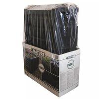 Nature Kompostisäiliö Musta 1200 L 6071483