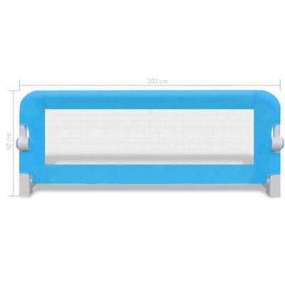 vidaXL Turvalaita sänkyyn 2 kpl sininen 102x42 cm, Sininen