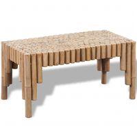vidaXL Sohvapöytä Bambu