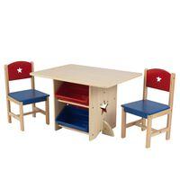 KidKraft Tähtipöytä kahdella tuolilla