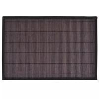 Bambu Tabletti 6 kpl 30 x 45 cm Tummanruskea