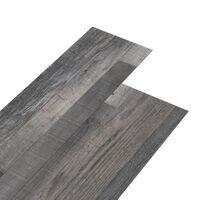 vidaXL PVC-lattialankut 5,26 m² 2 mm teollistyylinen puu