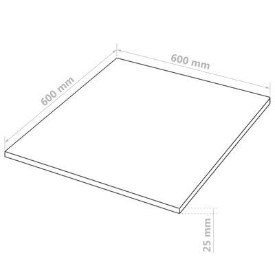 vidaXL MDF-levyt 4 kpl neliö 60x60 cm 25 mm