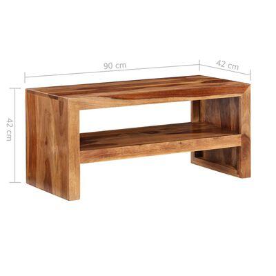 Massiivipuinen TV-taso/sivupöytä Seesampuu