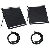 vidaXL Uima-altaan aurinkoenergiapaneelit 2kpl 150x75 cm