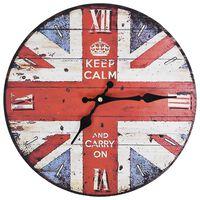 vidaXL Vintagetyylinen seinäkello UK 30 cm
