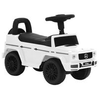 vidaXL Potkuauto Mercedes-Benz G63 valkoinen